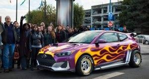 Nový Hyundai Veloster sa predstaví vo filme Ant-Man and The Wasp.