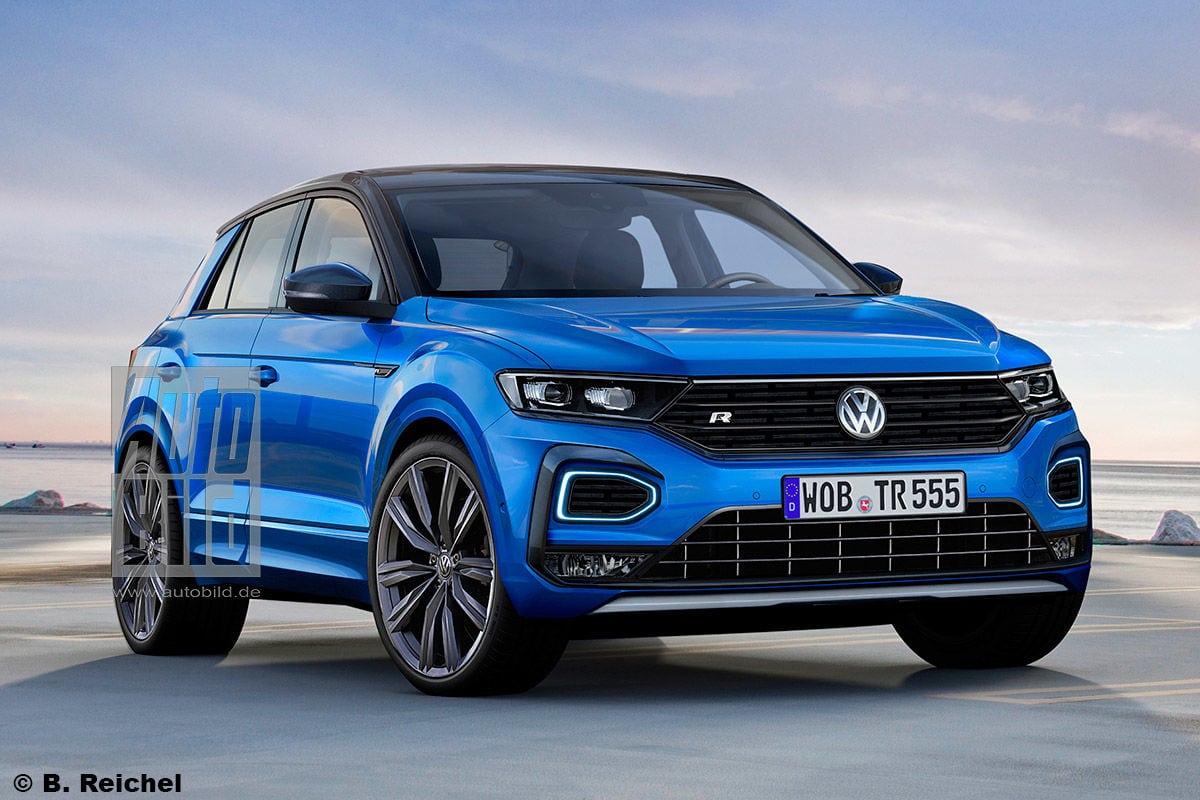 Nový Volkswagen T-Roc R dostane vyše 300 koní! - startstop