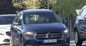 Takto vyzerá nový Mercedes triedy B na najnovších špionážnych fotografiách