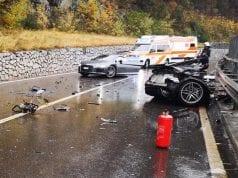 Audi R8 sa rozletelo na dve polovice. Zázrakom vystúpil vodič bez zranení!