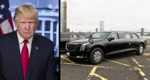 Na čom jazdia svetoví vládcovia? Americký prezident Donald Trump a jeho Beštia