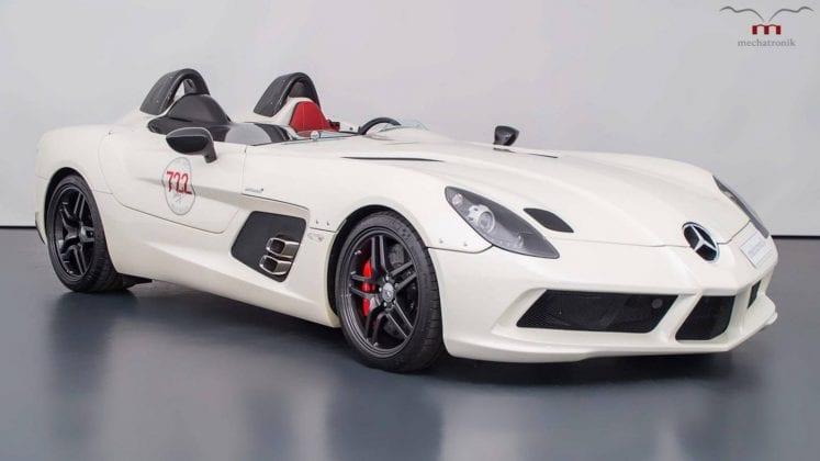 Jeden zo 75 modelov Mercedes-Benz SLR McLaren Stirling Moss je na predaj!