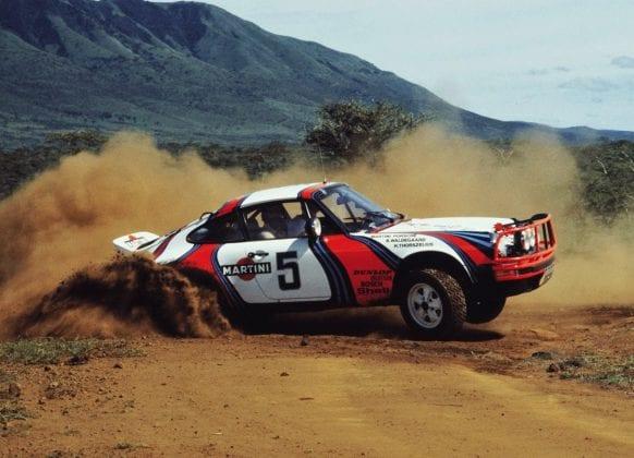 Navrhne Porsche novú 911 ako SUV na Safari Rally?