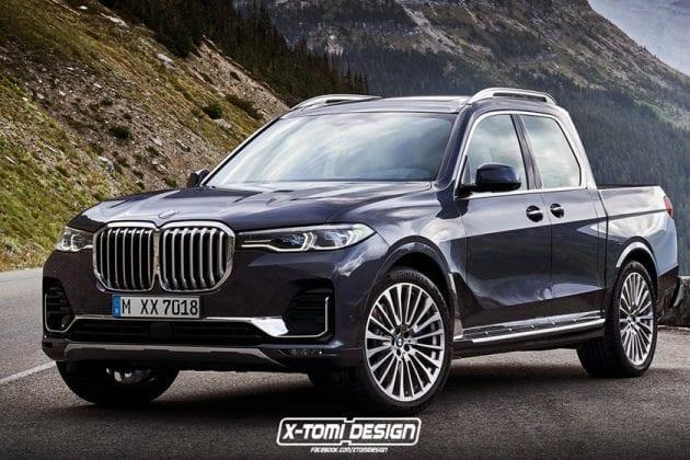 BMW, ako ste ho ešte nevideli – ďalší pickup z nemeckej dielne!