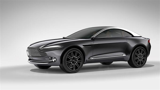 Aston Martin predstaví svoje prvé SUV už o rok!
