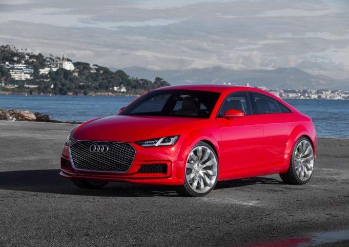 Ďalšia generácia Audi TT príde podľa všetkého už len ako 4-dverové coupé!