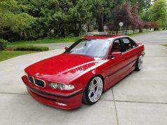Fanúšik si postavil svetový unikát: BMW M7 generácie E38