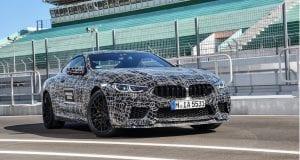 BMW M8 : Poznáme podrobnosti, no zatiaľ stále v maskovaní!