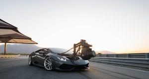 Najrýchlejšie vozidlo so vstavanou kamerou: Lamborghini HuraCAM