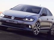 Volkswagen Virtus GTS vyzerá ako menší Arteon postavený na báze Pola GTI!