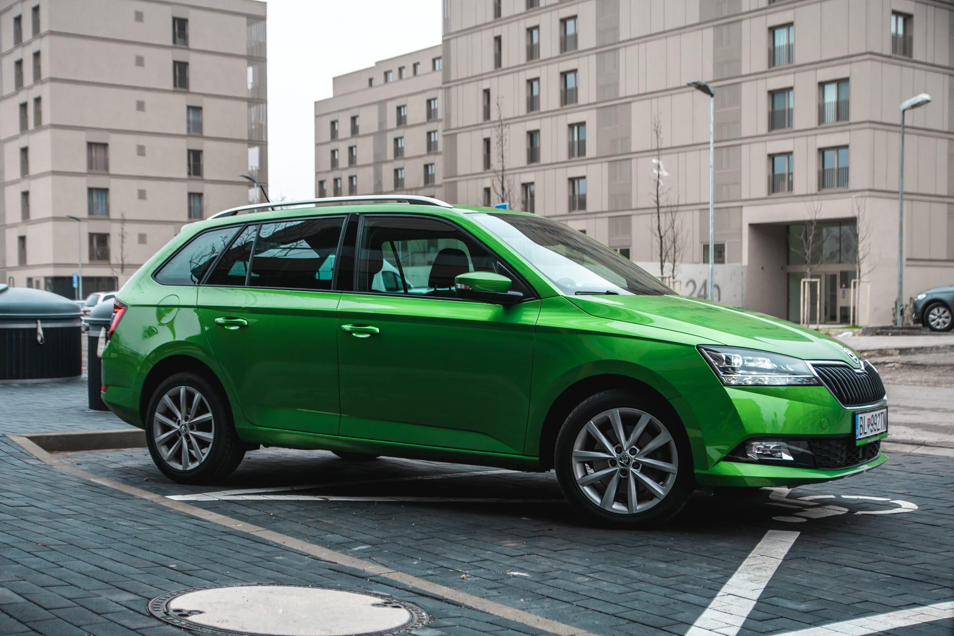Test Škoda Fabia Combi 1,0 TSI, praktické auto do mesta