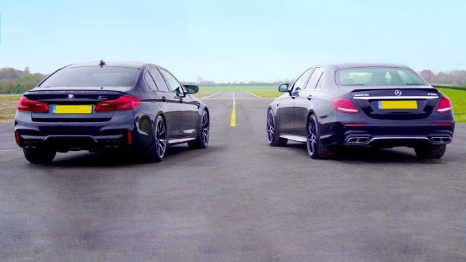 BMW M5 Competition verzus Mercedes-AMG E63 S: Vyhrať môže len jeden