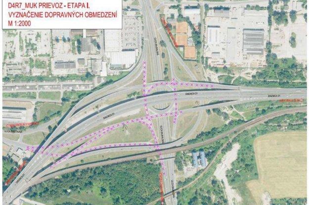 Bratislava zažije od pondelka dopravný kolaps, prinášame podrobný prehľad!