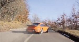 Sviatok pre petrolheada: Porsche 930 v neskutočnej akcii na kľukatých cestách!