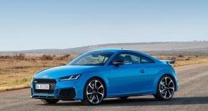 Jemne modernizované Audi TT RS prináša svieži vietor do plachiet