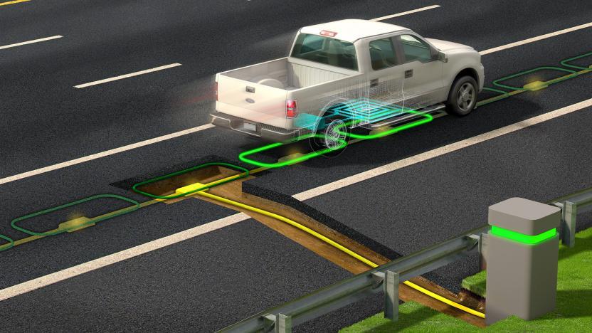 Elektrická cesta systém