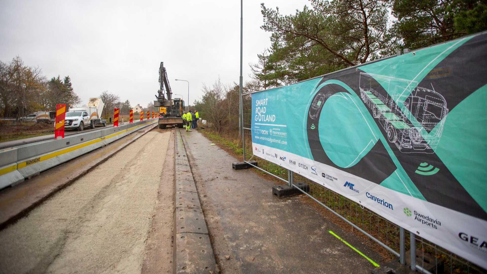 Elektrická cesta Švédsko