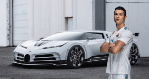 Auto Bugatti Centodieci Cristiano Ronaldo